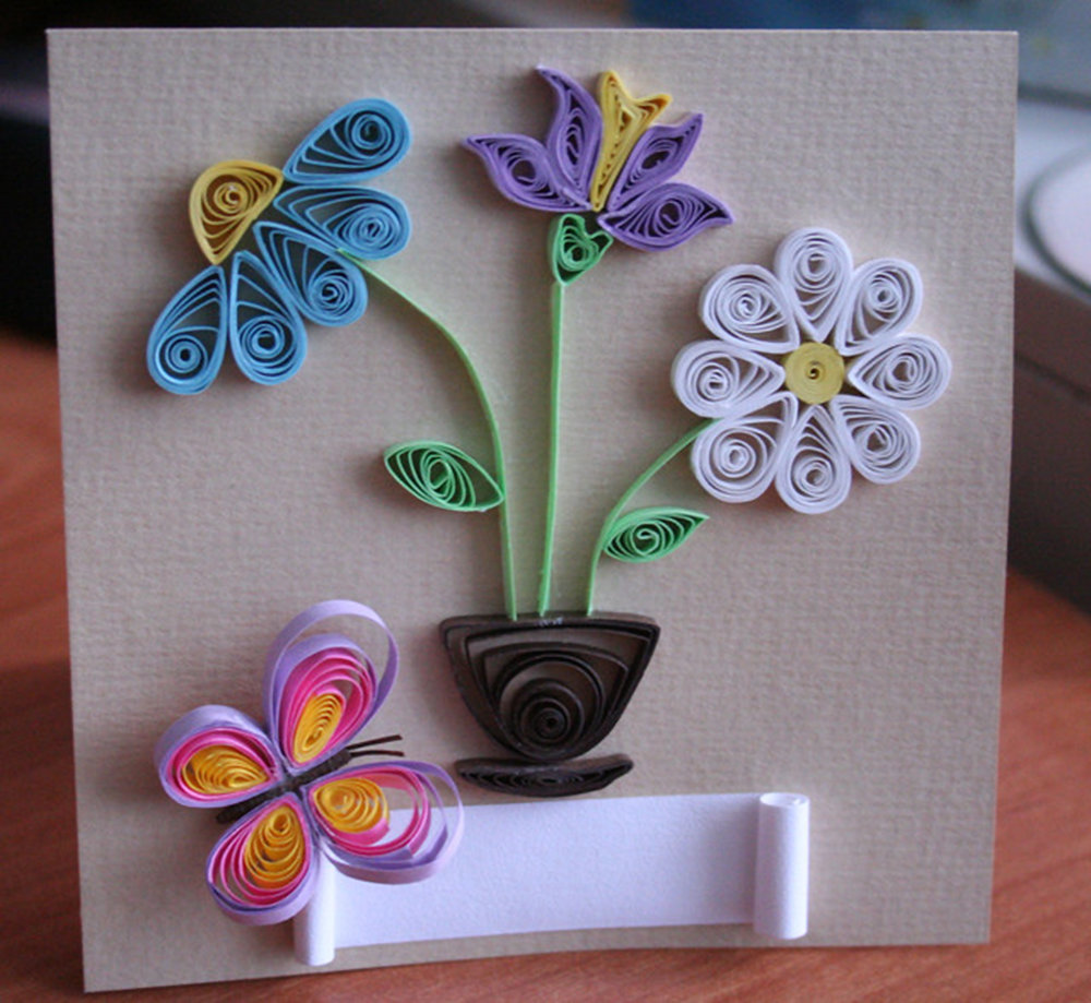 Объемные цветы из квиллинга своими руками 82